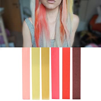 Amazon Com Best Rose Gold Ombre Hair Dye Set Pink Blonde Red