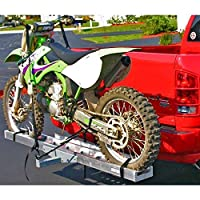 Rage Powersports AMC-400 Aluminum Motocross & Dirt Bike Hitch Mounted Carrier AMC-400 for 2' Receivers