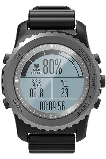 Reloj GPS para Correr, Escalada, Impermeable, IP68 ...