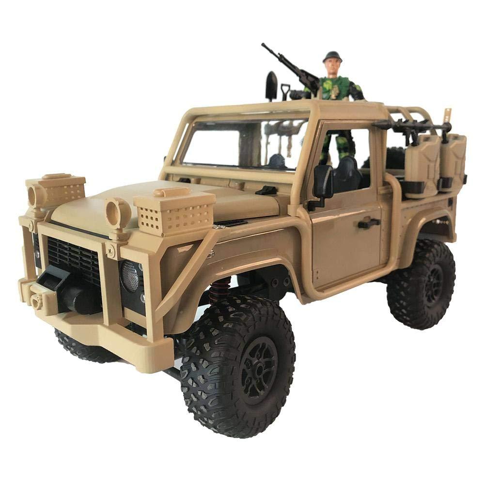 hermoso Waysad RC Coche 1 1 1 12 2.4G Off-Road Climb Jeep Descapotable 4WD para Niños Rastreadores Vehículo Todoterreno Luz Tracción En Las 4 Ruedas Escalador De Roca para Niños Adultos Juguete De Hobby  promociones de equipo