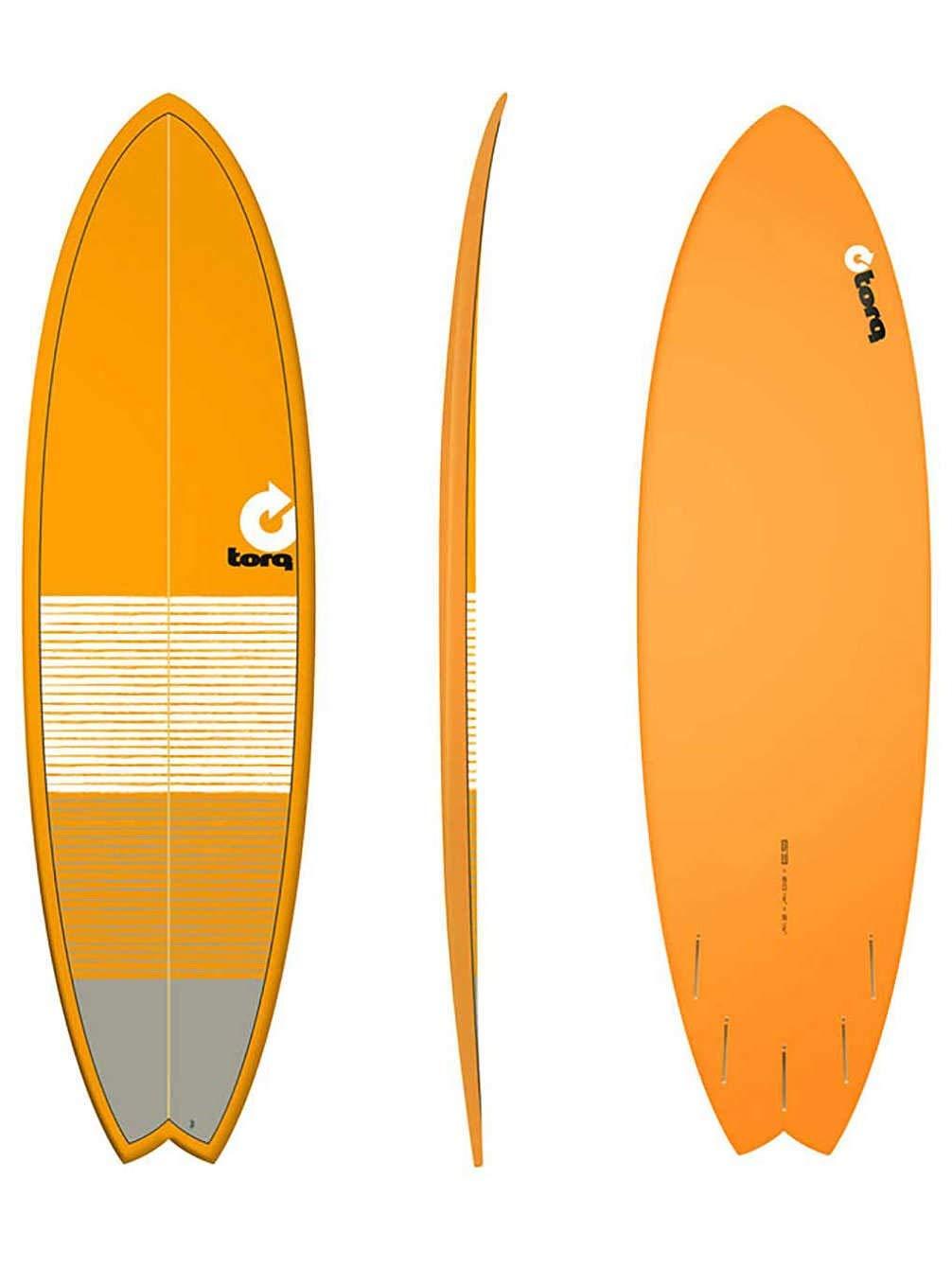 Torq Surfboard Epoxy Tet Fish 6.3 Orange