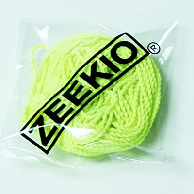 Zeekio Yo-yo Strings -(1) Ten Pack of 100% Polyester Yo-Yo String - Neon Yellow: Toys & Games