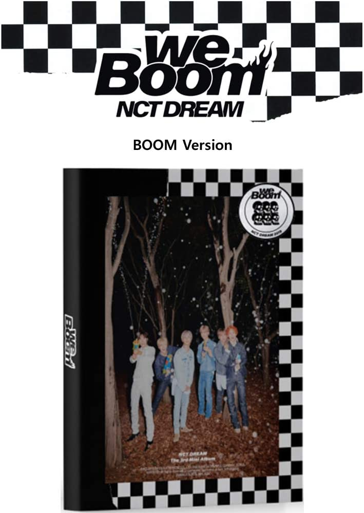 NCT Dream We Boom (Boom Version) Album CD+Booklet+Photocard+Boom ...