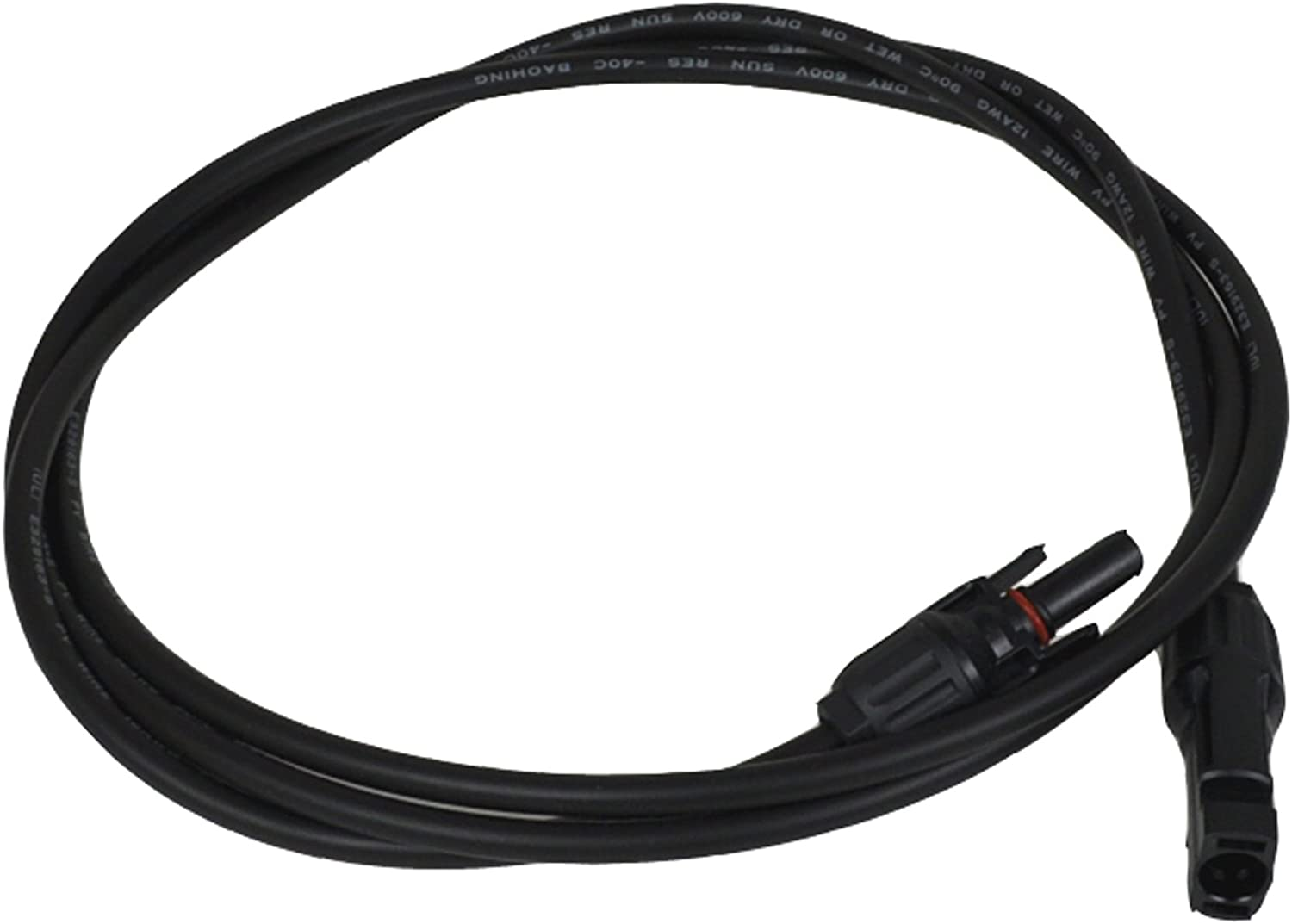 40 FEET UL Solar Panel Extension Cable Wire MC4 Connectors PV 600VDC 12 AWG