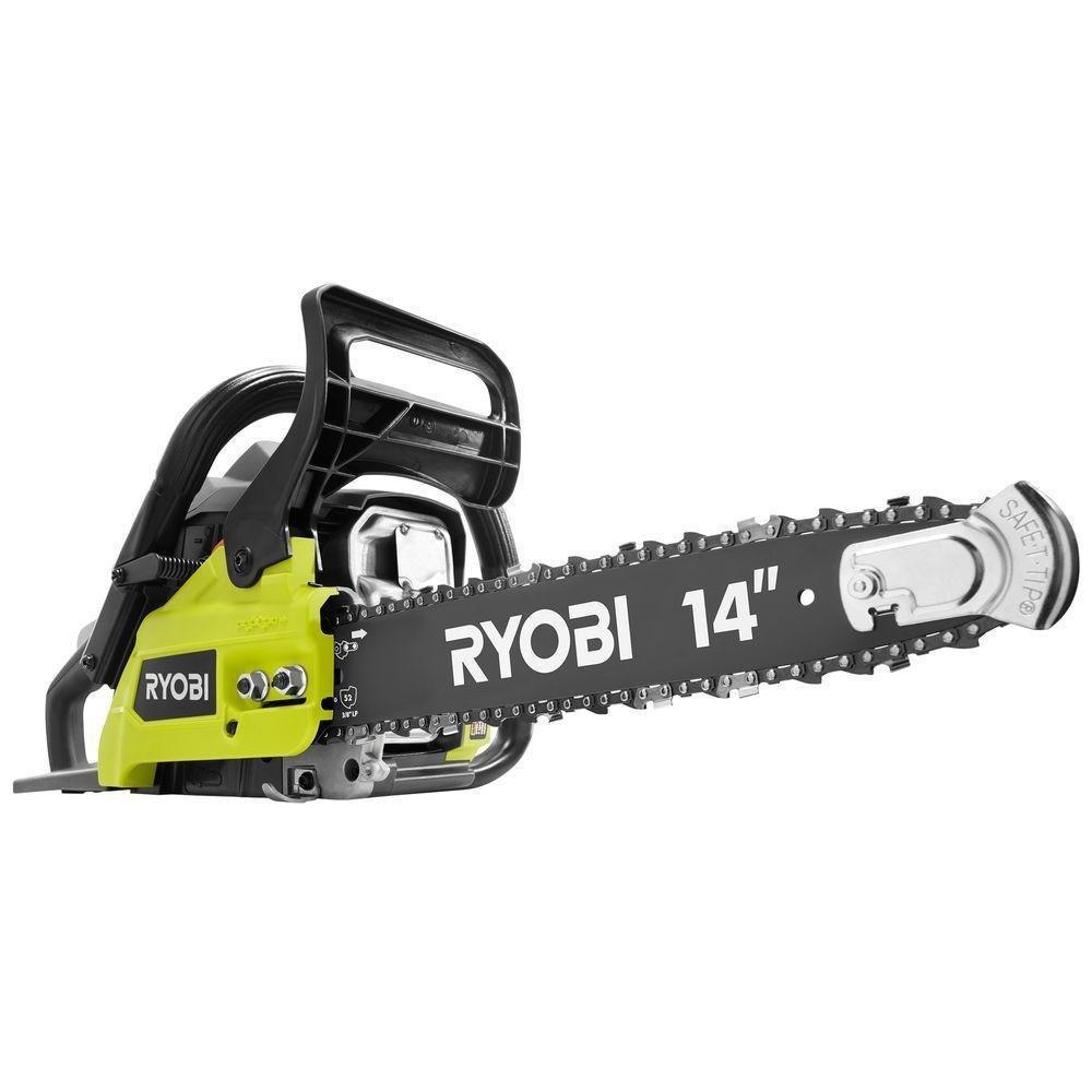 Ryobi (Ship from USA) NEW 14 in. 37cc 2-Cycle Gas Chainsaw RY3714 Saw Wood Cut Power Tool/ITEM NO#I-86/Q-UI754418478