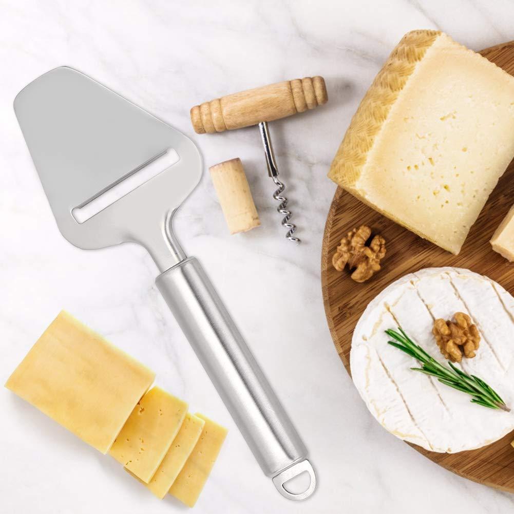 Cuchillo de queso, cortador de queso de acero inoxidable ...