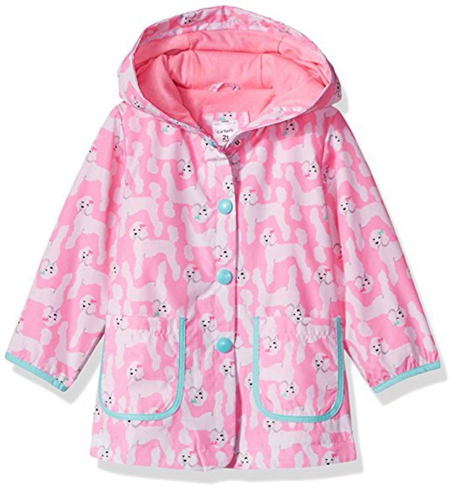 Carter's Little Girls' Her Favorite Rainslicker Rain Jacket (5-6)