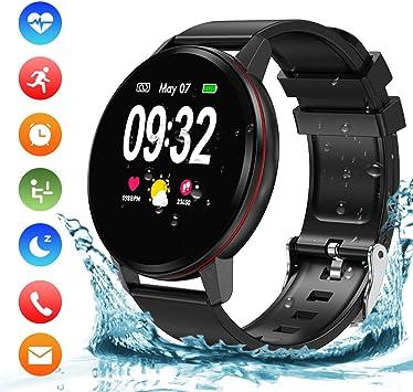 Reloj Inteligente Hombre Mujer Niños, Impermeable IP68 Smartwatch ...