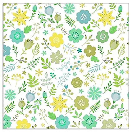 Tutti Decor Pack of 20 Vintage Summertime floral paper napkins 33 x 33cm Quality 3 ply
