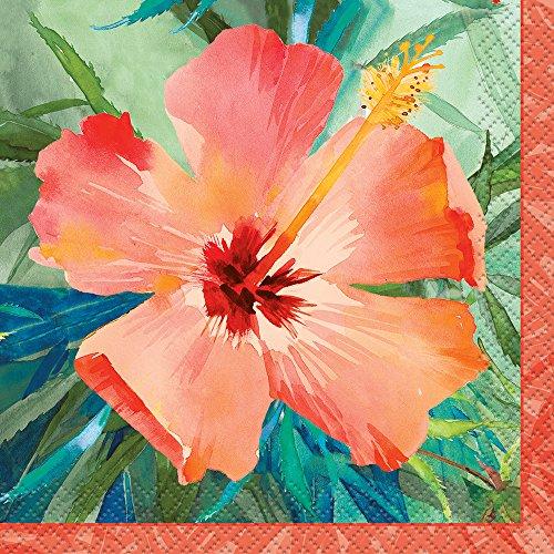 (Hibiscus Breeze Summer Cocktail Napkins, 24ct)
