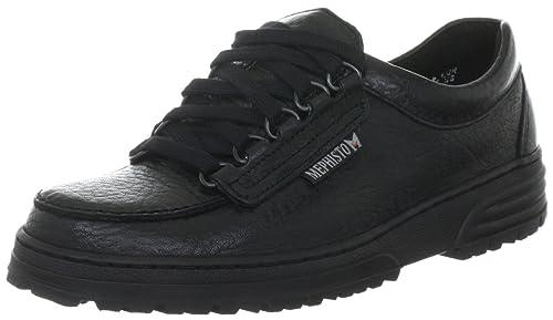 MEPHISTO WANDA W813A06 Womens Lace-Up Shoe, Black 4 UK
