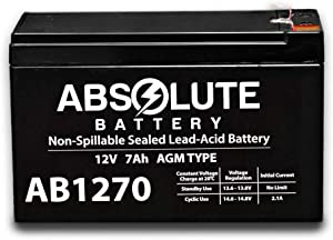 New AB1270 12V 7AH SLA Battery Replacement 4 Home ADT Security Alarm System