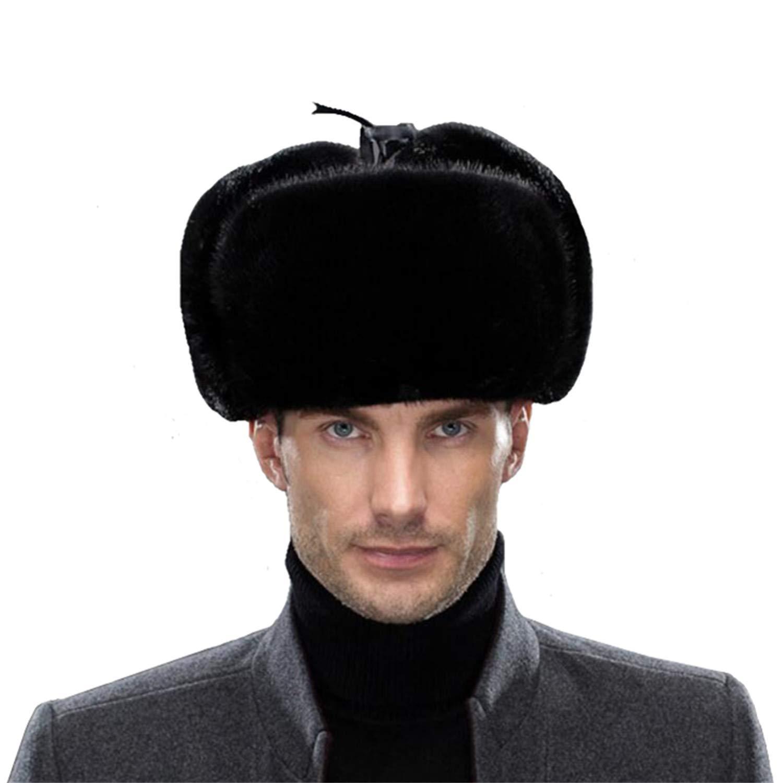 eca60127c0d Sisha men mink fur hat elegant russian ushanka winter warm cossack jpg  1500x1500 Ushanka winter furry