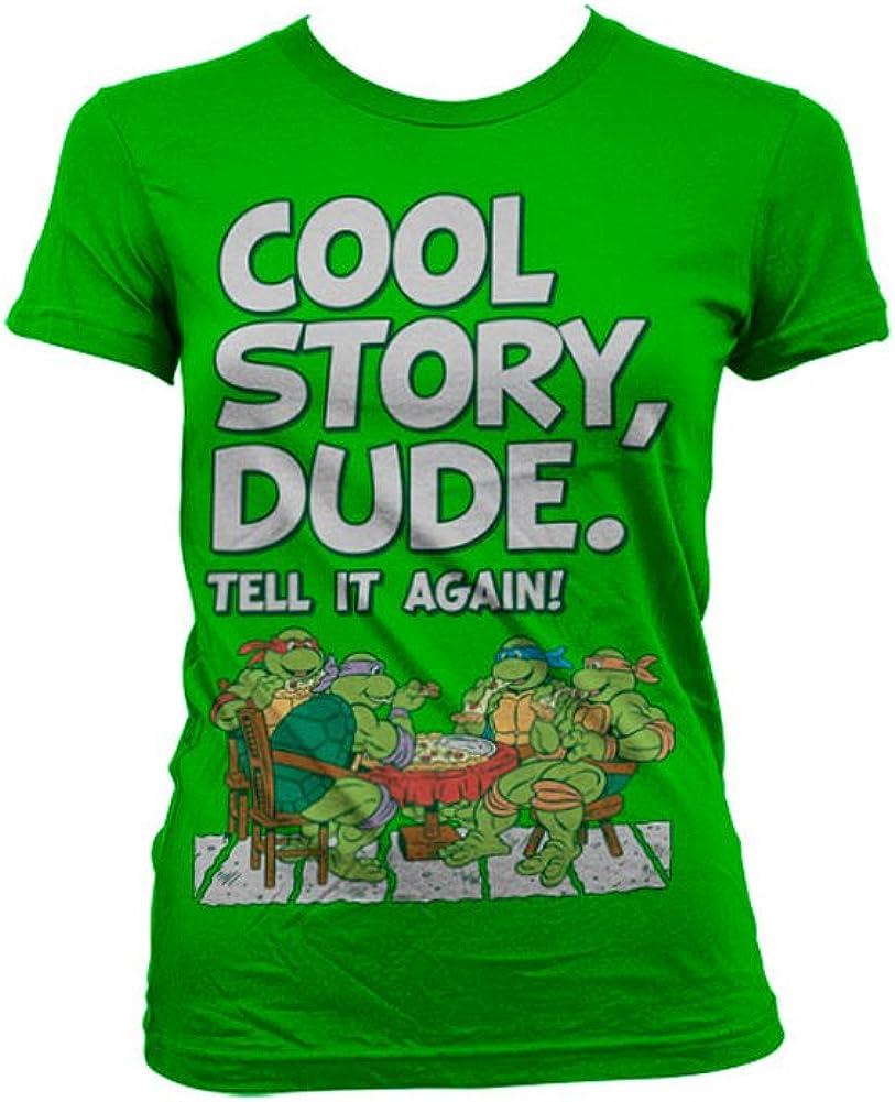 Teenage Mutant Ninja Turtles Officially Licensed Merchandise TMNT - Cool Story Dude Women T-Shirt