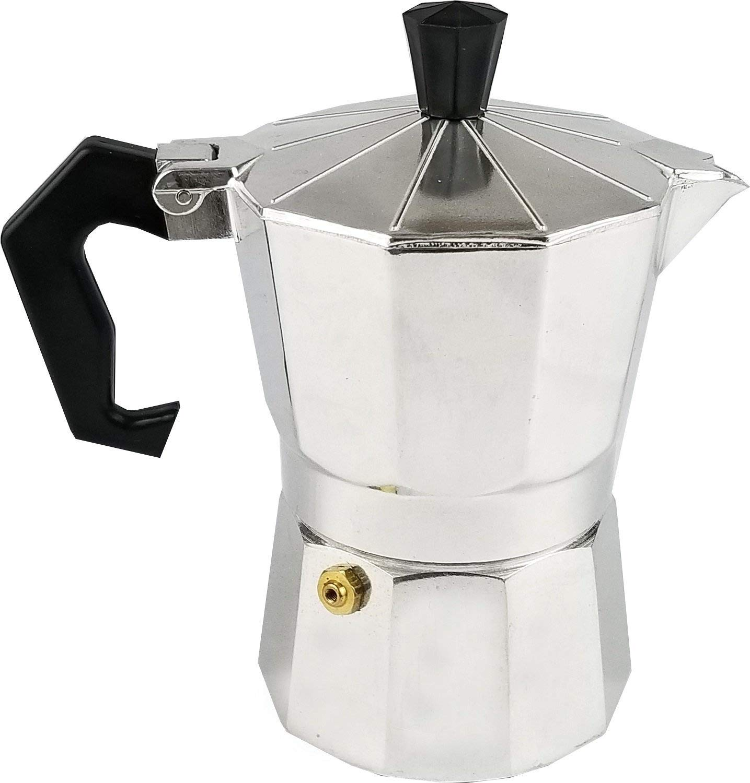 Uniware 9501-12 Aluminum Expresso Coffee Pot (12 Cups)