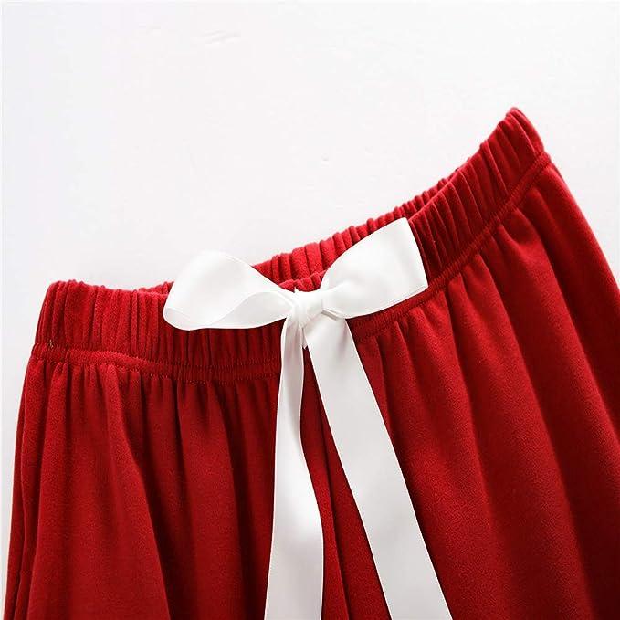 Pijamas Conjunto Camisetas Mangas Largas y Pantalones Largos Ropa ...