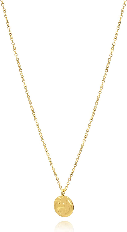 Gold Necklace Dainty Necklace Minimalist Necklace Minimalist Simple Necklace Oval necklace Starburst Necklace Simple necklace