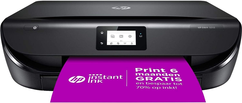 Hp Envy 5010 All In One Draadloze Wifi Kleuren Inktjet Printer Voor Thuis Afdrukken Kopiëren Scannen Inclusief 6 Maanden Instant Ink Amazon Nl