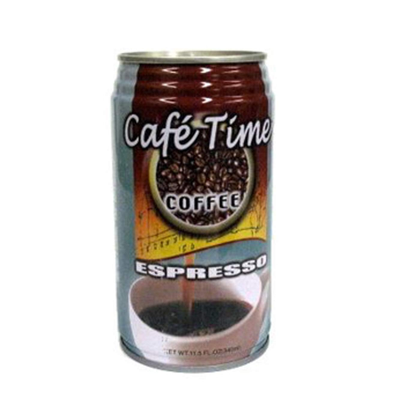 (Pack of 24) Café Time Coffee Drink Espresso, 11.5oz