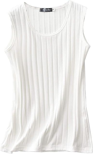 Zooma Mujer Camisetas de Tirante Cómodo Tanktop, Camiseta de Tirantes de Algodón para Mujer, Camiseta Básica para Mujer: Amazon.es: Ropa y accesorios