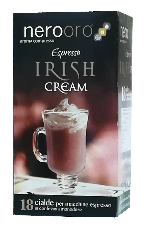 CAFÉ IRISH CREAM NEROORO - Box 18 VAINAS ESE44: Amazon.es: Alimentación y bebidas