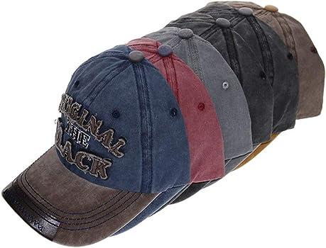 TWIFER Gorra de béisbol Hombre Mujer algodón Mezclado Impresión de ...