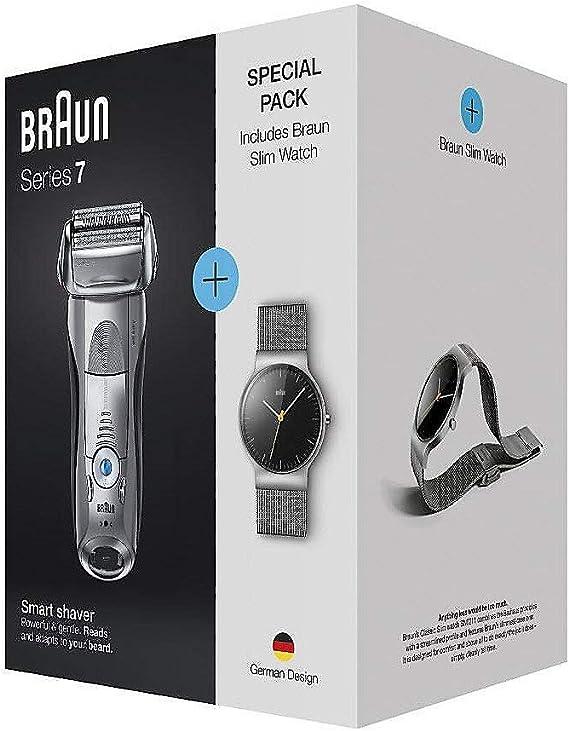 Braun 7893s Series 7 + BN021 SlimWatch: Amazon.es: Electrónica