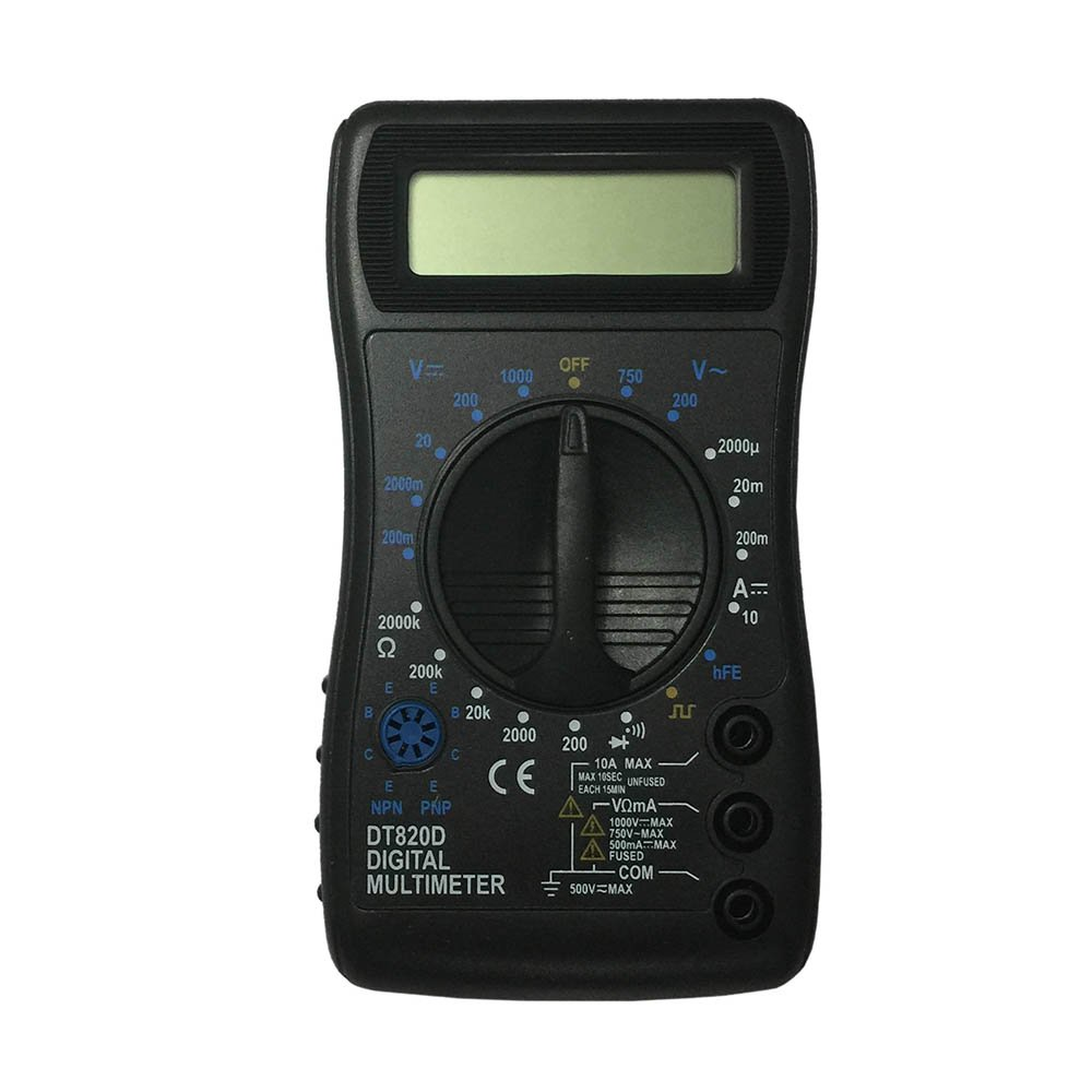 OLSUS DT820D LCD Handheld Digital Multimeter, Using for Home and Car - Black by OLSUS (Image #1)