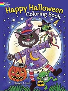 Happy Halloween Coloring Book Dover Holiday