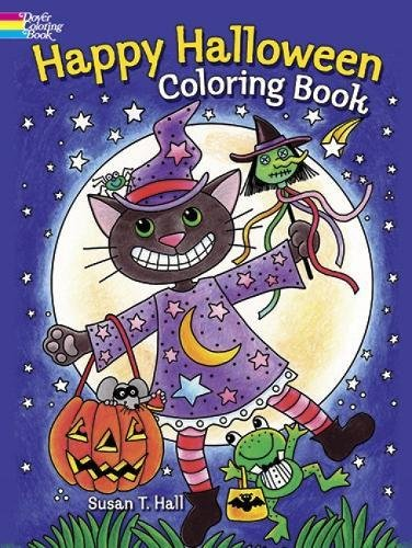 Happy Halloween Coloring Book (Dover Holiday Coloring Book) -
