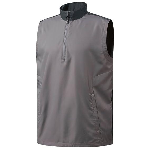 ebd583404c9fd adidas Men s Essentials Wind Vest Waistcoat  Amazon.co.uk  Clothing