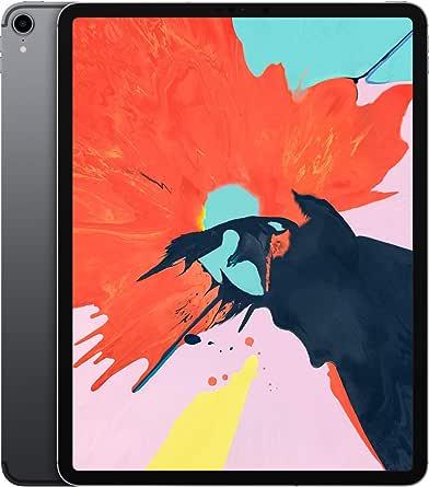 Apple iPad Pro (12.9-inch, Wi-Fi + Cellular, 256GB) - Space Gray (3rd Generation)