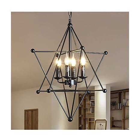 candelabro Lámpara colgante, lámpara de techo, hierro ...
