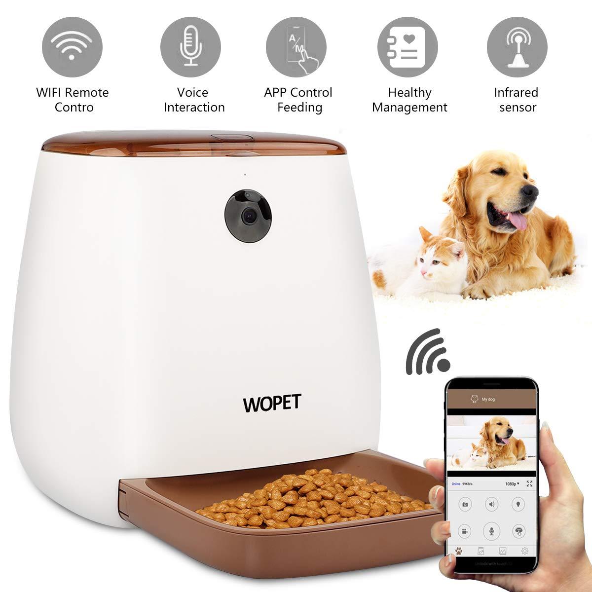 WOPET SmartFeeder Automatic Pet Dog Feeder