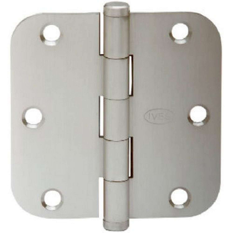 SCHLAGE Lock CO SC3P1021F-716E BRZ Round Corn Hinge 4-Inch 3-Pack