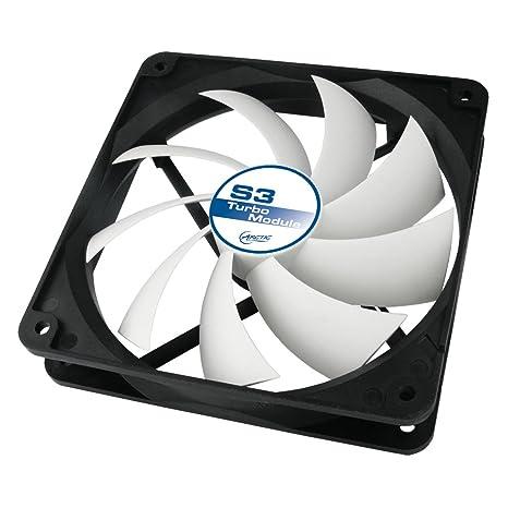 ARCTIC S3 Turbo - Ventilador de PC (Ventilador, Tarjeta de Video, 120 x