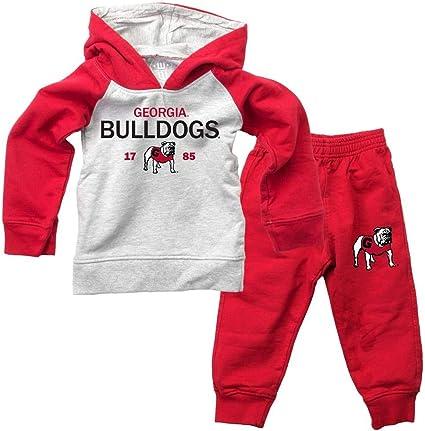 Infant//Toddler Raglan Georgia Bulldogs UGA Hoodie and Pant Set