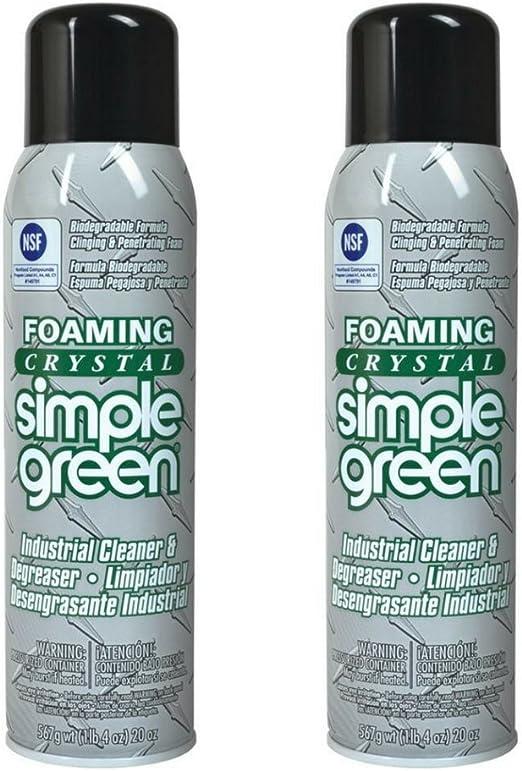 Simple verde 19010 espuma cristal Industrial limpiador ...