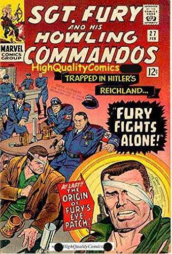 - SGT FURY #26-28, VF, WWII, Origin Eye Patch, 1st Eric Koenig
