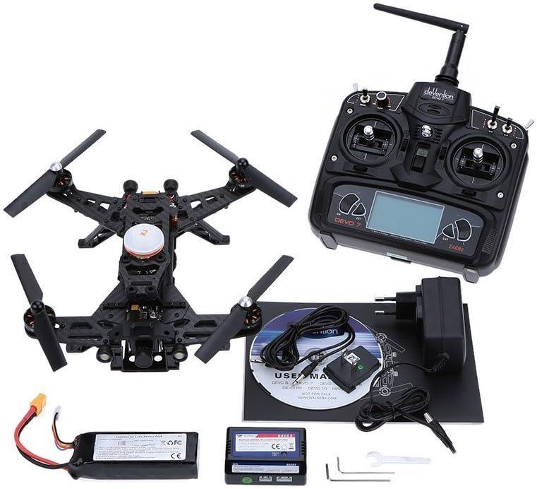 Original Walkera Runner 250 Basic 3 Version Rtf Rc Quadcopter With Osd Devo 7 Transmitter 800tvl Hd Camera Camera Photo Amazon Com