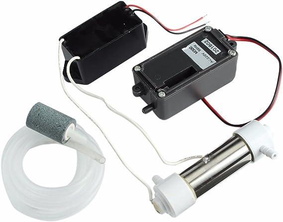 MASUNN Ac220V 500 MG Ozono Generador Aire Agua Purificador ...
