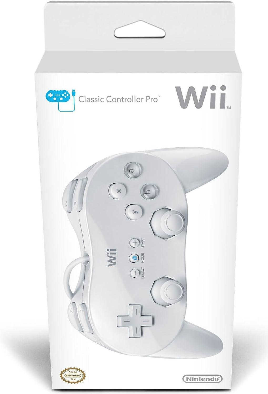 Amazon com: Wii Classic Controller Pro - White: Nintendo Wii: Video
