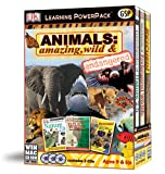 Animals: Amazing, Wild and Endangered Learning Power Pack (Win/Mac)