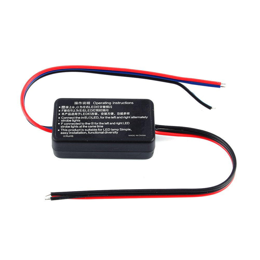 Flash Strobe Controller Gs 100a Car Flasher Module 12v Powerful Led 24v Box For Brake Tail Stop Light Automotive