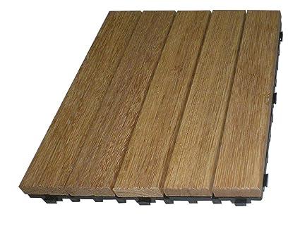 Piastrelle legno 30x30 pz 6: amazon.it: fai da te