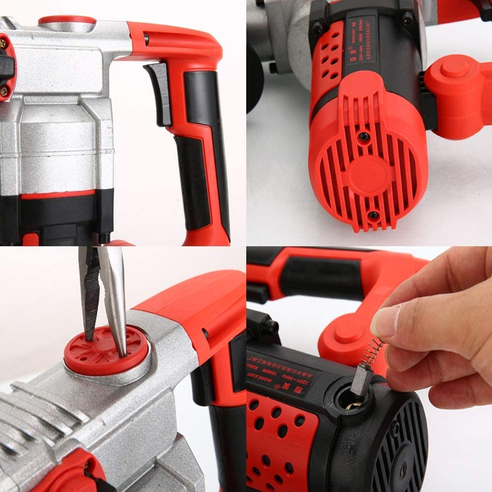 Marteau perforateur /électrique 2200 W avec mallette 30 cylindres haute performance 0-930 tr//min