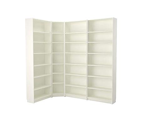 Mensole A Parete Regolabili In Altezza.Libreria Combinazione Corner Solutionwhite 215 135 X 237 X 28 Cm