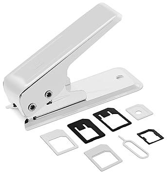 Fosmon Cortador de la tarjeta de plata Nano Sim con Nano ...