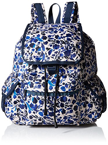 LeSportsac Voyager Backpack, Blooming Silhouettes, One Size Blooming Silhouette