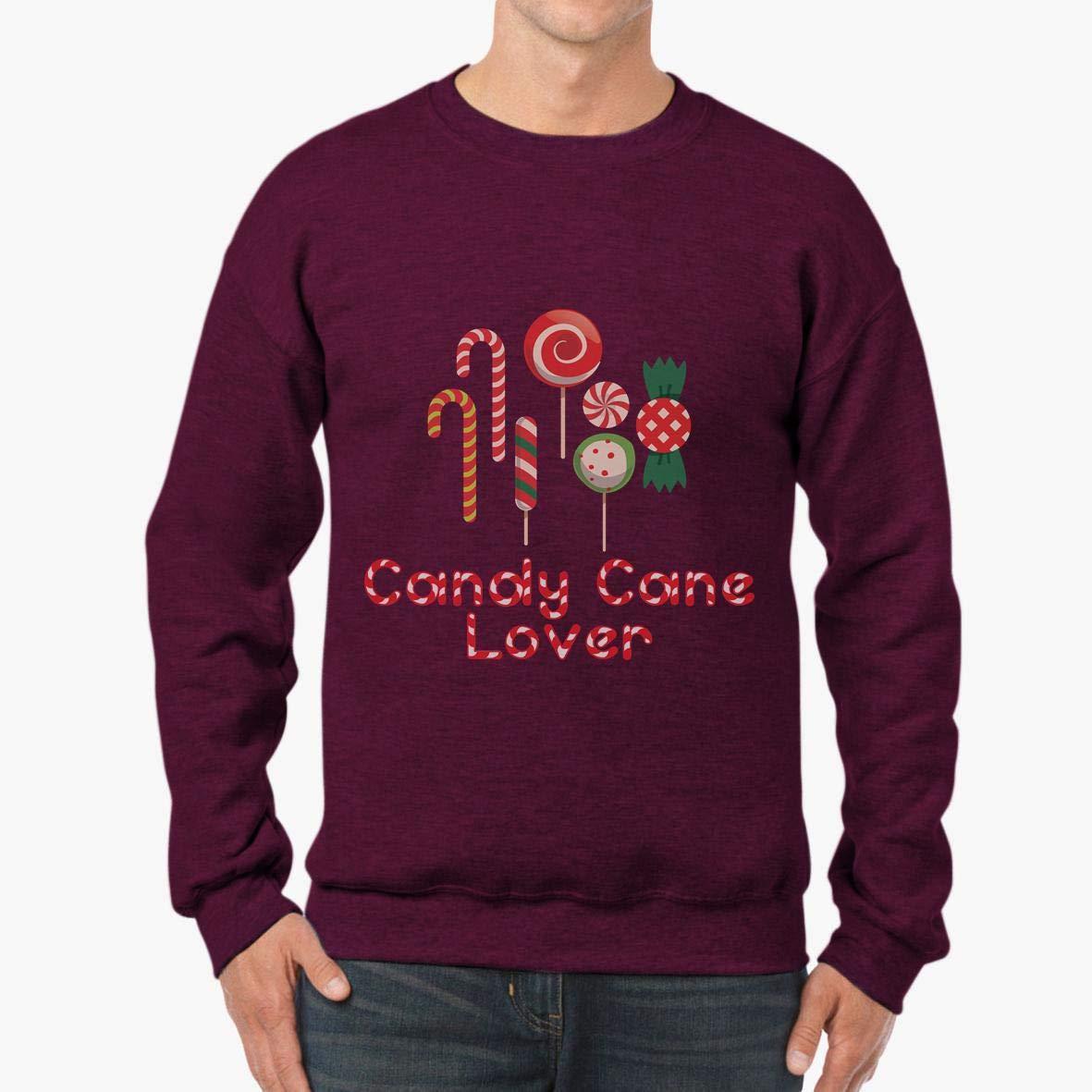 Doryti Candy Cane Lover Cute Holiday Funny Xmas Spirit Unisex Sweatshirt tee